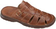 Łukbut Klapki buty 962 Brązowe 26034