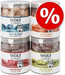 Wolf of Wilderness Wolf of Wilderness liofilizowane przysmaki premium Wątroba wołowa 90 g)