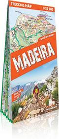 ExpressMap praca zbiorowa trekking map Madera. Laminowana mapa trekkingowa 1:50 000