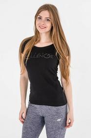 4F Koszulka damska H4L17-TSD011 czarna r S H4L17-TSD011)
