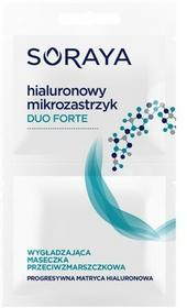Soraya Hialuronowy Mikrozastrzyk Duo Forte 2 x 5 ml Wygładzająca maseczka przeciwzmarszczkowa DARMOWA DOSTAWA DO KIOSKU RUCHU OD 24,99ZŁ