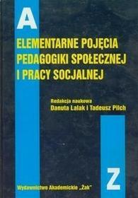 Elementarne pojęcia pedagogiki społecznej i pracy socjalnej