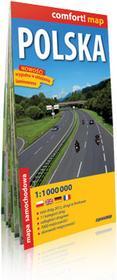 ExpressMap Polska - laminowana mapa samochodowa w skali 1:1 000 000 - Expressmap