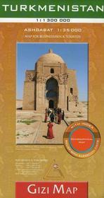 GiziMap Turkmenistan, 1:1 300 000
