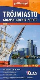 Trójmiasto Gdańsk - Gdynia - Sopot 1:17 000 - Plan