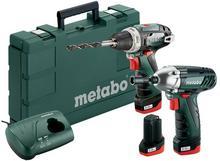 METABO Wkrętarka Powermaxx BS + klucz Combo Set 3x 10,8V/2.0Ah 685092000 685092000