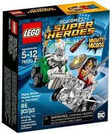 LEGO DC Comics Super Heroes Mighty Micros Wonder Woman kontra Doomsday 76070