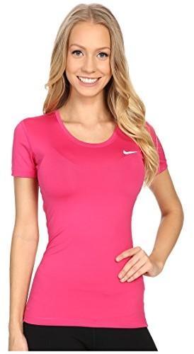08494872406ad7 Nike Pro Cool Shortsleeve Top 725745 koszulka kompresyjna z krótkim  rękawkiem, damska, różowy,