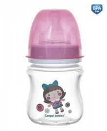 Canpol babies Butelka szerokootworowa antykolkowa (sm 0m+) 120 ml 35/220 ID-15866
