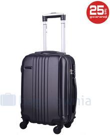 PELLUCCI Mała kabinowa walizka PELLUCCI 740 SS Czarna