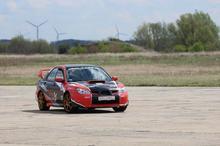 Jazda Subaru Impreza kierowca Tor Gdańsk Pszczółki 1 okrążenie