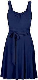 Bonprix Sukienka koktajlowa ciemnoniebieski