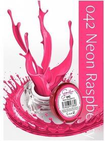 Semilac UV Gel Color 042 Neon Raspberry 5ml Żel UV do paznokci 5902533440313