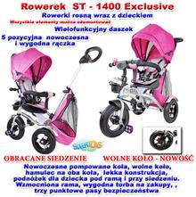 Import SUPER-TOYS EXCLUSIVE ST-1400-RÓŻOWY