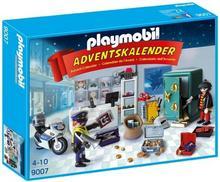 Playmobil Kalendarz adwentowy - akcja policyjna w sklepie jubilerskim 9007