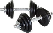 Hop-Sport Hantle żeliwne 2x10 kg
