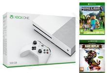 Microsoft Xbox One S 500GB Biały + Minecraft + Rare Replay
