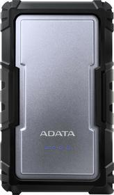 Adata Powerbank D16750 16750 mAh 3.4A Silver Durable AZADAUAPD16750S