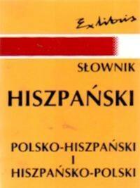 Exlibris Papis-Gruszecka Teresa Słownik kieszonkowy hiszpańsko - polski, polsko - hiszpański