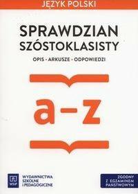 WSiP Język polski Sprawdzian szóstoklasisty a-z - Ewa Horwath, Anita Żegleń