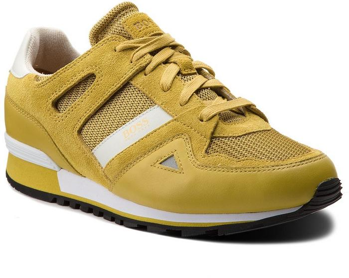 1b9aa99c66265 Boss Sneakersy Verve 50384349 10206849 01 Bright Yellow 730 - Ceny i opinie  na Skapiec.pl