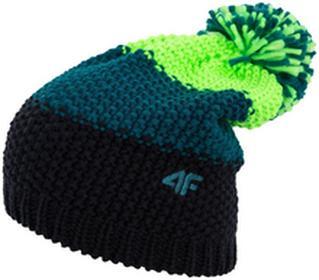 4F Czapka męska CAM011z zielony neon [H4Z17-CAM011] CAM011 zielony neon