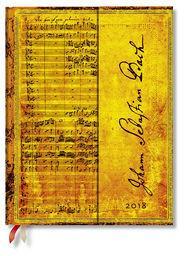 Paperblanks Kalendarz 2018 Bach Cantata BMW 112 Ultra Day