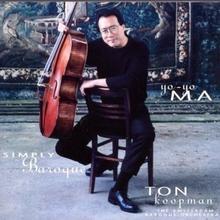 Simply Baroque Vol I CD) Yo-Yo Ma Ton Koopman Amsterdam Baroque Orchestra