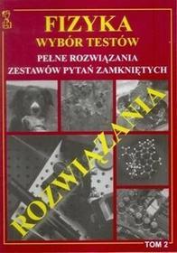 Andrzej Persona Fizyka. wybór testów. tom 2 - pełne rozwiązania zadań testowych / wysyłka w 24h