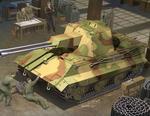 Trumpeter Niemiecki czołg przeciwlotniczy Flakpanzer E-50 01537