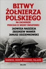 Bellona Bitwy żołnierza polskiego. Na zachodzie podczas II wojny światowej. Narwik, Monte Cassino, Falaise - Opracowanie zbiorowe