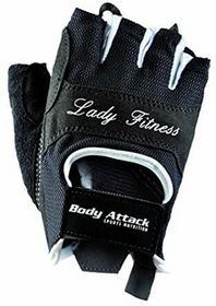 Body Attack Sports Nutrition Training rękawiczki Lady Fitness, czarny, S 5466
