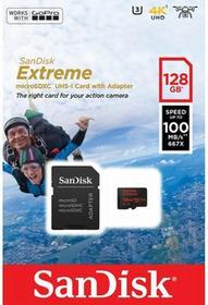 SanDisk microSDXC Extreme 128GB