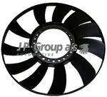 Opinie o JP GROUP koło wentylatora, chłodzenie silnika 1114900100