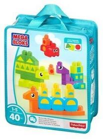Mega Bloks Klocki Poznajemy Kształty Zwierzęta DXH34