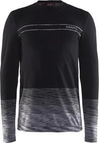CRAFT koszulka termoaktywna z długim rękawem Wool Comfort Black M