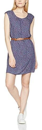 BEST MOUNTAIN sukienka w stylu casual panie, kolor: niebieski, rozmiar: M B01N9MWHLV