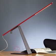 Jella  ściemniana designerska lampka biurkowa LED
