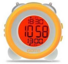 Gotie Budzik elektroniczny z mechanicznym dzwonkiem Wake Up Clock GBE-200Y