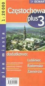 Demart Częstochowa - plan miasta (skala 1:20 000) - Demart