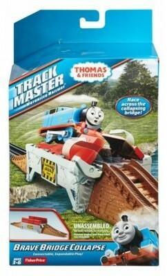 Fisher Price Tomek i przyjaciele Zestaw torów BMK81/DFM63