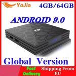 4GB RAM 64GB ROM Android 9.0 TV, pudełko T9 RK3318 QuadCore USB 3.0 4K dekoder 2.4G/5G podwójny WIFI