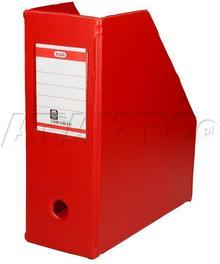 BANTEX Pojemnik czasopisma 110mm czerwony składany BX1275