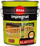 Altax Impregnat do drewna 6 lat mahoń 4 5 l