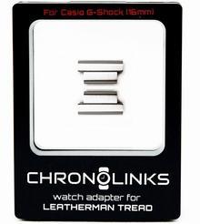 Leatherman Chronolinks Adapter ChronoLinks 16 mm Silver do mocowania zegarka Casio G-Shock na multitoolu Tread C06b70