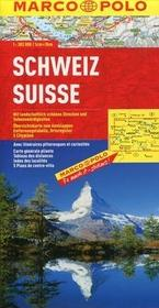 Szwajcaria Mapa drogowa 1:300 000 - Marco Polo