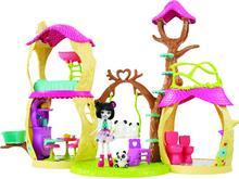 Mattel ENCHANTIMALS Barbie leśny domek zestaw FNM92