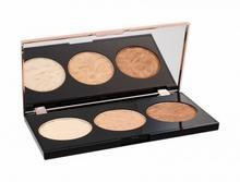 Makeup Revolution London Strobe Luxe Palette rozświetlacz 11,5 g dla kobiet