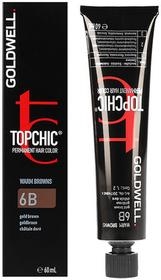 Goldwell Topchic, farba do włosów 6B Gold Brown, 60 ml