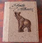 Duży Album foto na zdjęcia ze słoniem 6